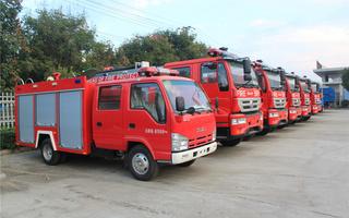 消防车细节图