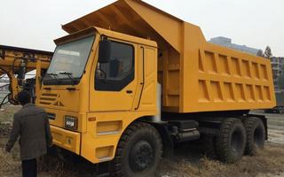 矿山3米3宽体自卸车图片