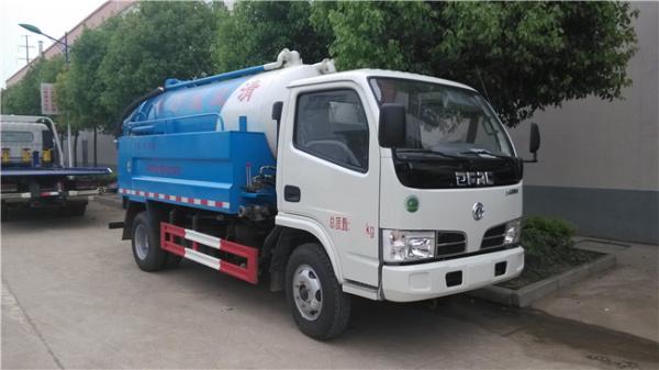 藍牌 東風清洗吸污車 (3)
