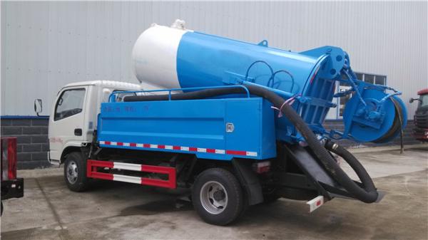 藍牌 東風清洗吸污車
