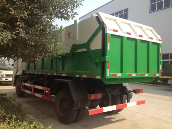 东风天锦对接式垃圾车 (5)