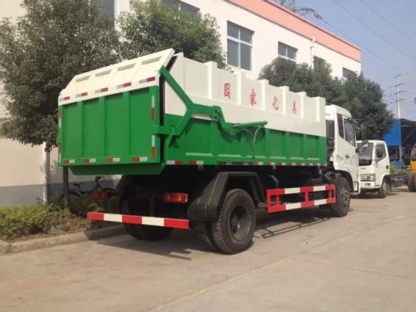 东风天锦压缩式对接垃圾车 东风天锦对接式垃圾车图片
