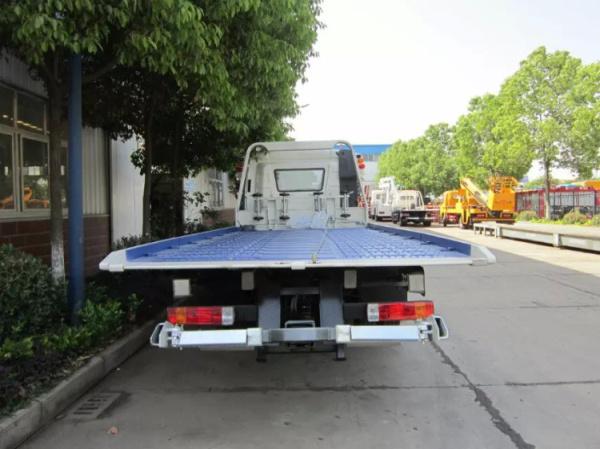 解放J6L一拖二清障車4