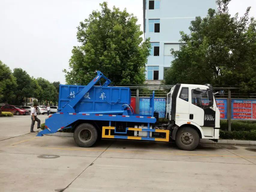 解放擺臂式垃圾車 (3)