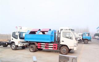 东风劲卡垃圾车图片