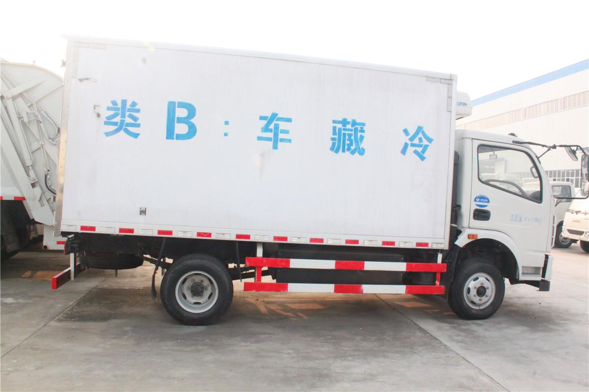 东风冷藏车图片大全__汽车家园网