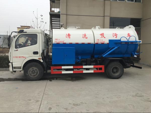 东风多利卡 清洗吸污车 (1)