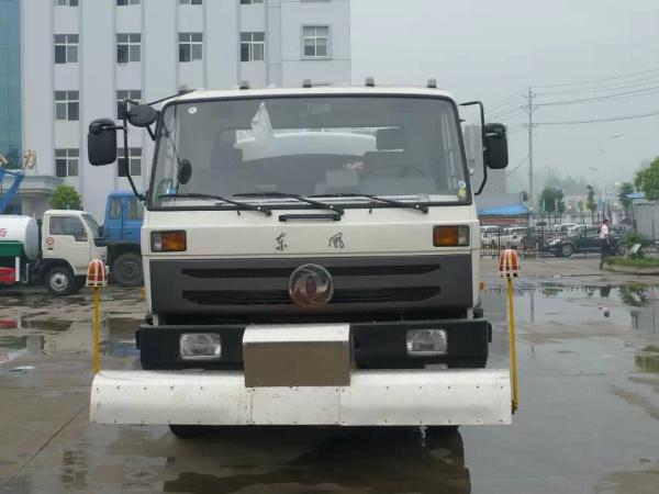 白色东风153路面清洗车3
