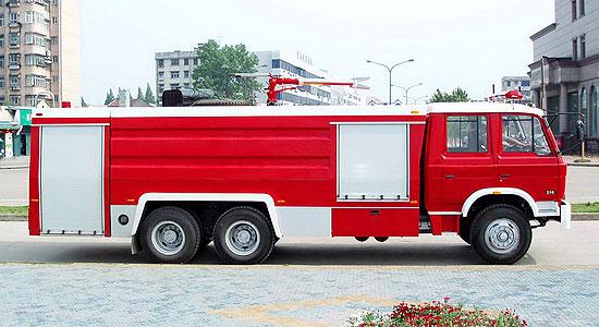 东风后双桥泡沫消防车