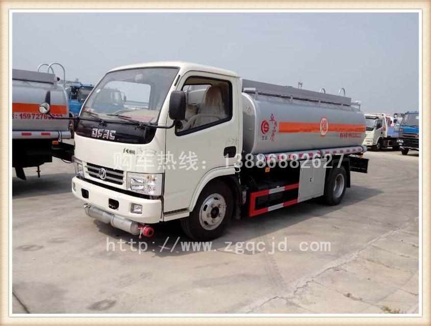 东风5吨加油车