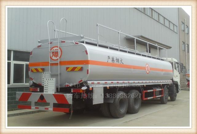 天龙前四后八油罐车(30-35立方)