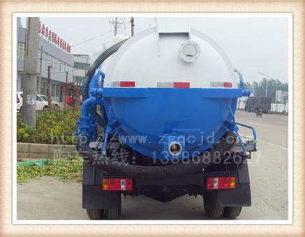 时代沼气池专用吸污车