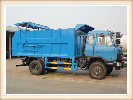 东风153对接垃圾车(12-15立方)