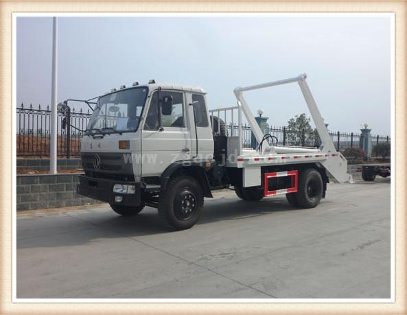 东风153摆臂式垃圾车(10立方)