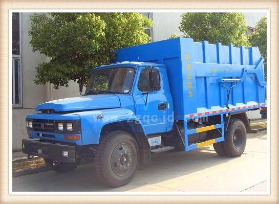 东风140对接式垃圾车(8-10立方)