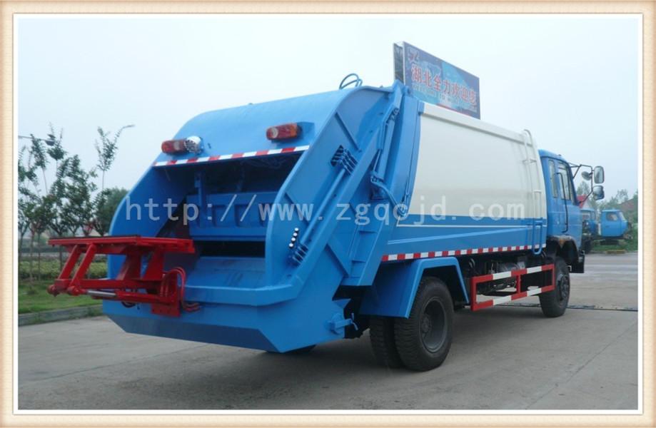 东风153压缩式垃圾车(12立方)