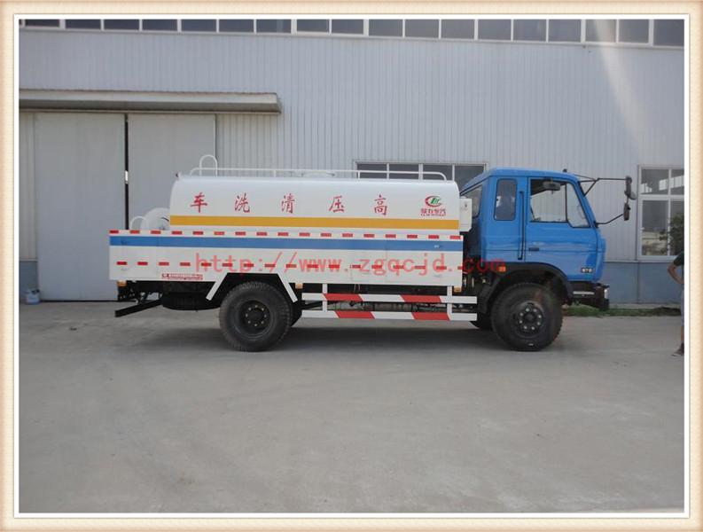 东风145高压清洗车(8-10立方)