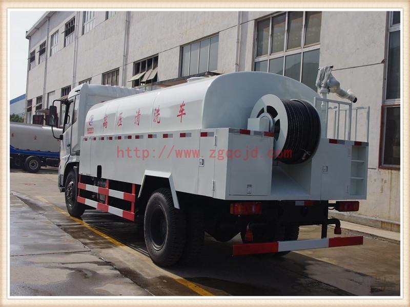 东风天锦高压清洗车(8-10立方)