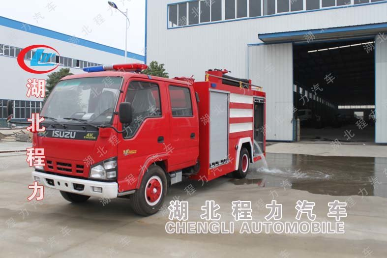 五十铃消防车