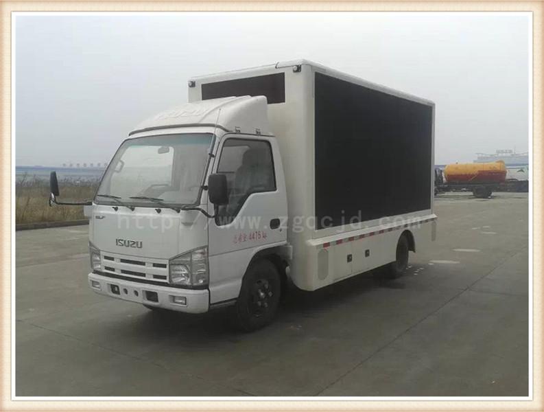 江铃广告宣传车