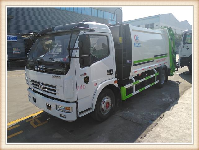 东风8立方压缩式垃圾车