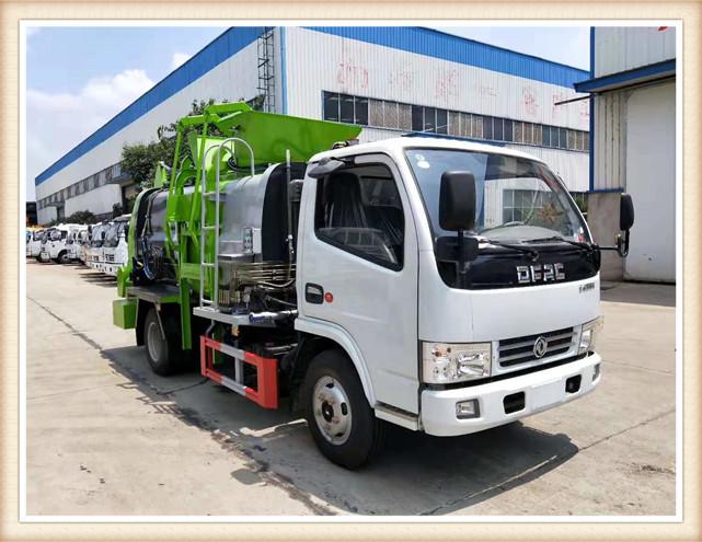 东风5立方餐厨垃圾车