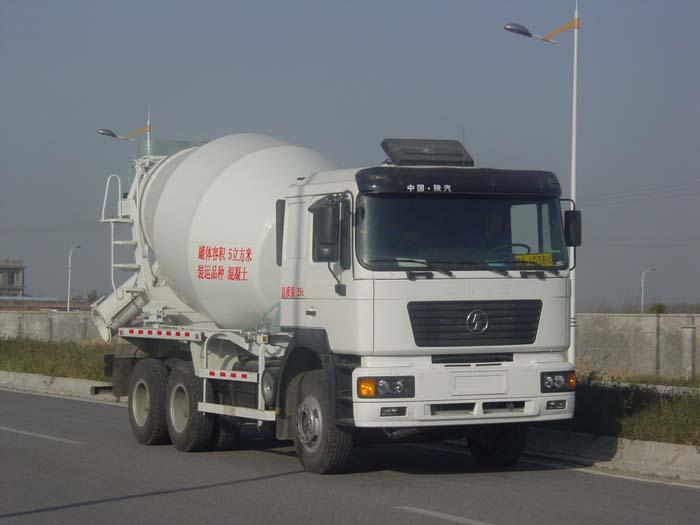 陕汽德龙混凝土搅拌运输车(12-14立方)