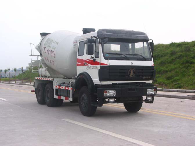 北奔混凝土搅拌运输车(10立方)
