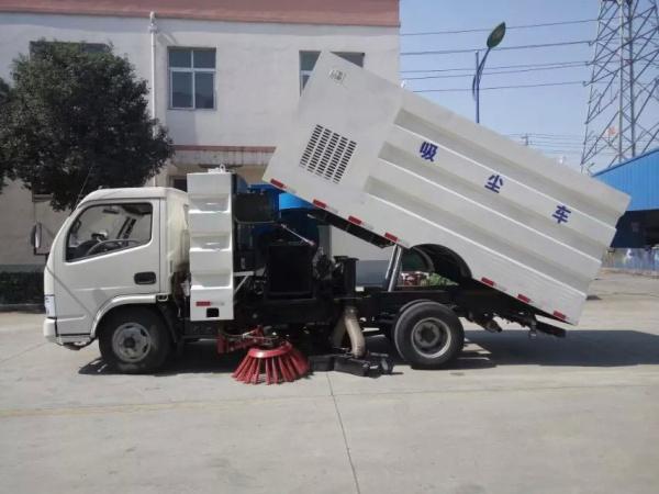东风小多利卡前扫后吸 吸尘车 (7)