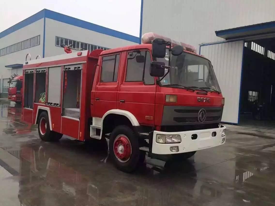 东风145消防车图片