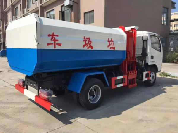 D6東風小多利卡掛桶式垃圾車3