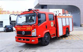 东风牌消防车图片