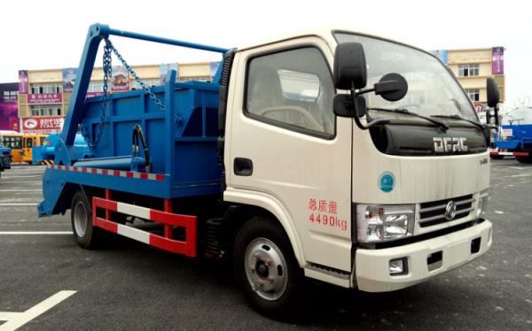 東風銳鈴擺臂式垃圾車 (1)