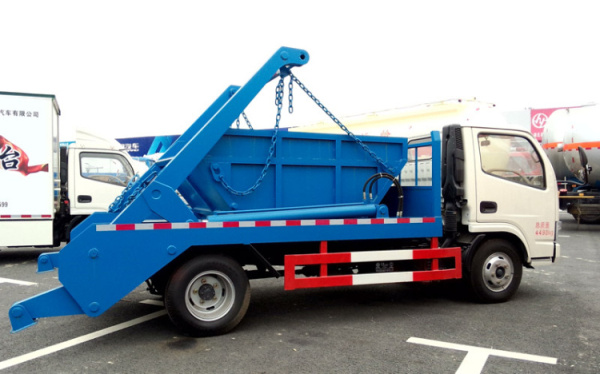 東風銳鈴擺臂式垃圾車 (2)