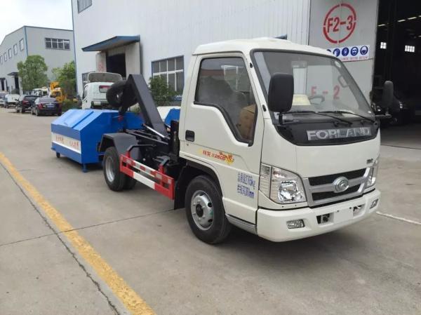福田时代祥龙勾臂式垃圾车 (2)