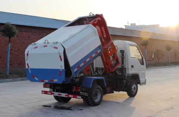 时代中驰挂桶式垃圾车 (2)