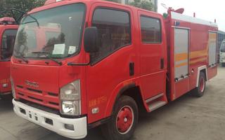 东风145~153平头6~8吨消防车图片