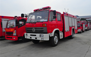 东风153水罐消防车(江南)图片