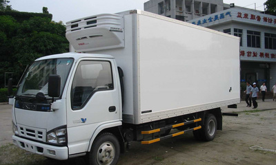 冷藏车图片