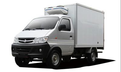 湖北程力福田驭菱小型冷藏车图片