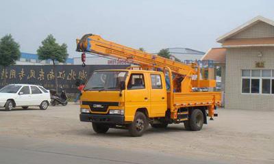 东风福瑞卡双排座16米高空作业车