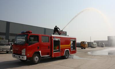儿童简笔画消防车119