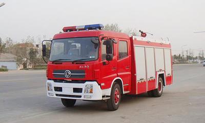 2-1-1-6-3总重18吨水罐泡沫消防车