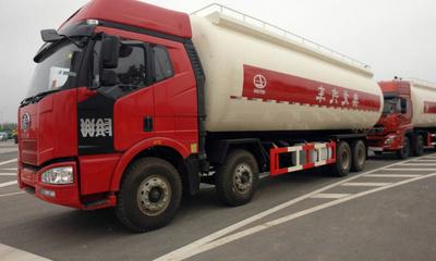 粉粒物料车◆ 散装水泥车图片