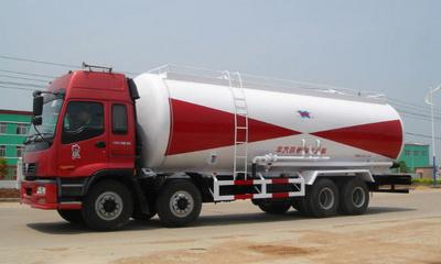 水泥运输车 粉粒物料运输车 水泥罐车 散装水泥车图片
