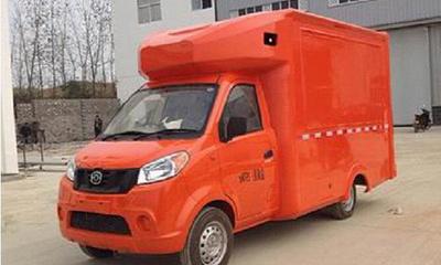 五菱售货车图片