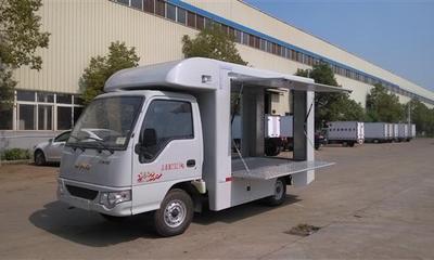 电动售货车图片