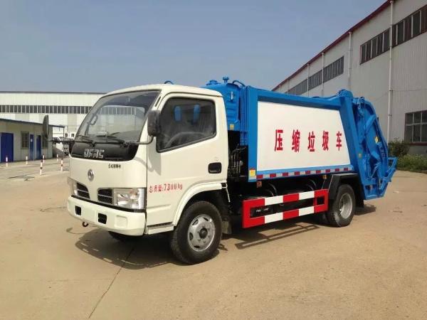【dfa1070sj35d6东风小多利卡压缩式垃圾车4方(国四)