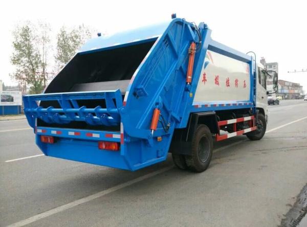 天锦12方压缩垃圾车2
