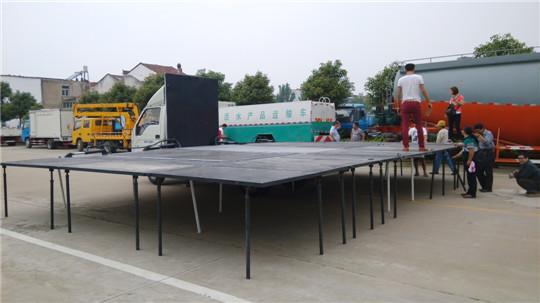福田蓝牌80平米舞台车图片